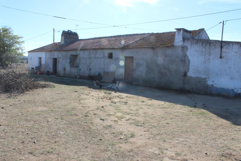 An old traditional farm consisting of 8 rooms and stables