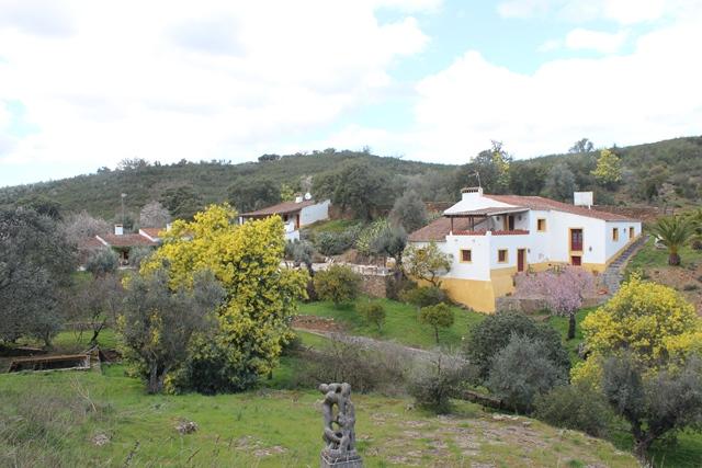 A unique and historic Quinta consisting of 4 independent traditional houses, 11 ha, near Vila Viçosa, Alentejo