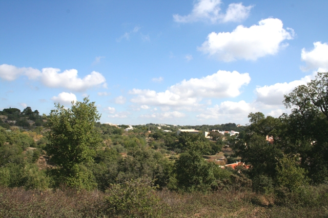Land with an Approved Project near Sao Bras de Alportel