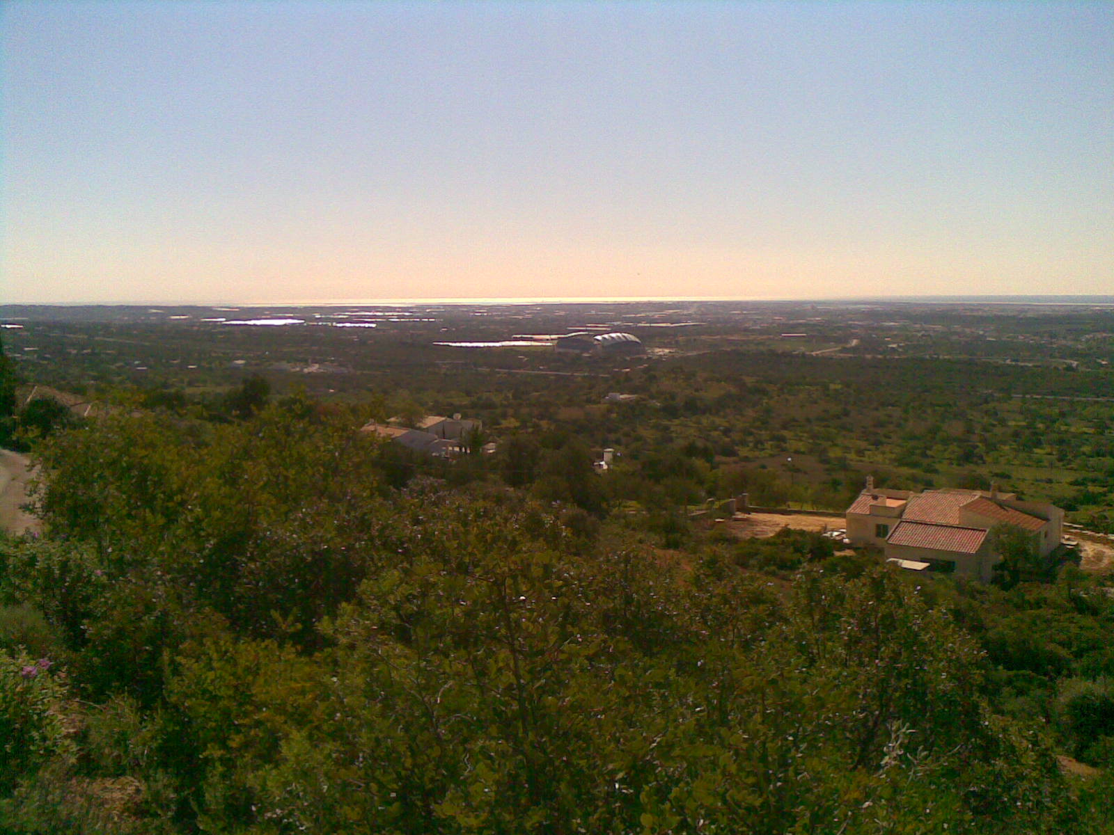 Approved project to build 2 villas with a fabulous view, Sta Barbara de Nexe